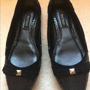Shoes, White House | Black Market black flats